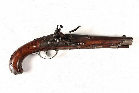 Gentleman's 18th C Gunsmith Made Flintlock Pistol