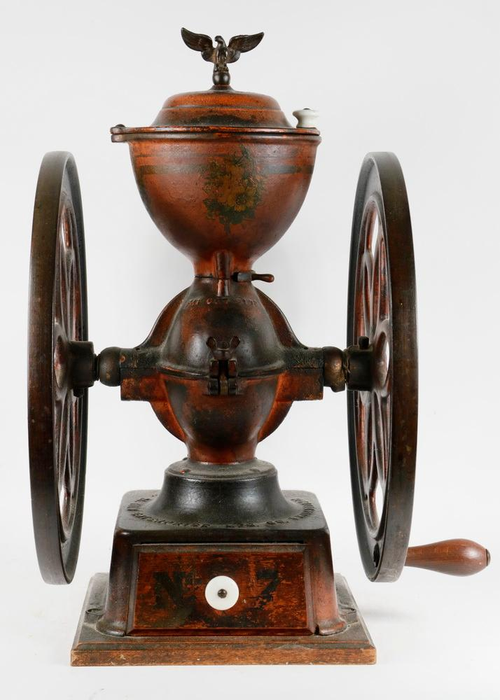 Cast iron coffee grinder for Cast iron coffee