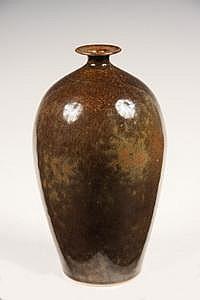 Brother T Bezanson Ovoid Jar Form Art Pottery Vase