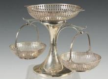 MAPPIN & WEBB STERLING SILVER EPERGNE