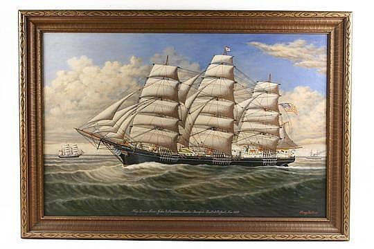 OOC Ship Portrait Grace Ross Percy Sanborn ME