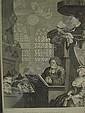 Engraving Sleeping Congregation Hogarth T Cook, Thomas (1744) Cook, Click for value