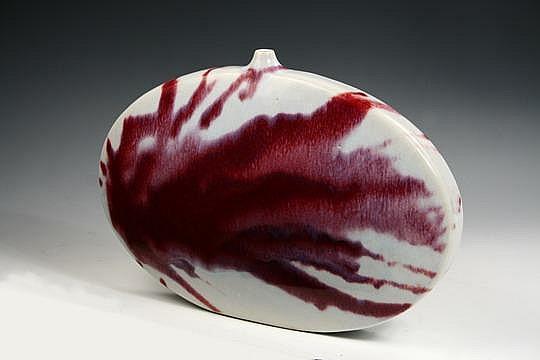 Ovoid Flask Vase Brother Thomas Bezanson