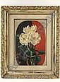 OOB White Roses by Ernest Fiene NY 1933, Ernest Fiene, Click for value