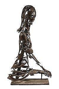 Bronze Sculpture 'Torso, 1972' by Lewis Iselin ME