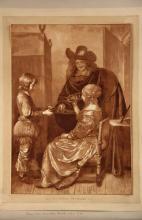 CORNELIS PLOOS VAN AMSTEL (Netherlands, 1726-1798); after GERARD TER BORCH (Flemish, 1617-1681) -