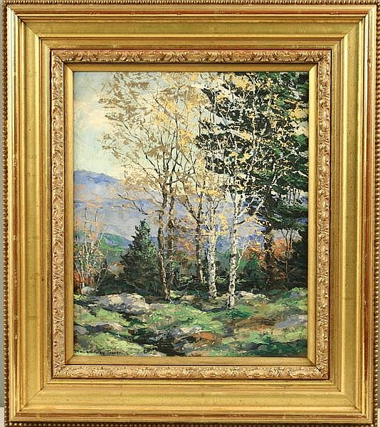 OOP Autumn New England Marion Gray Traver NY