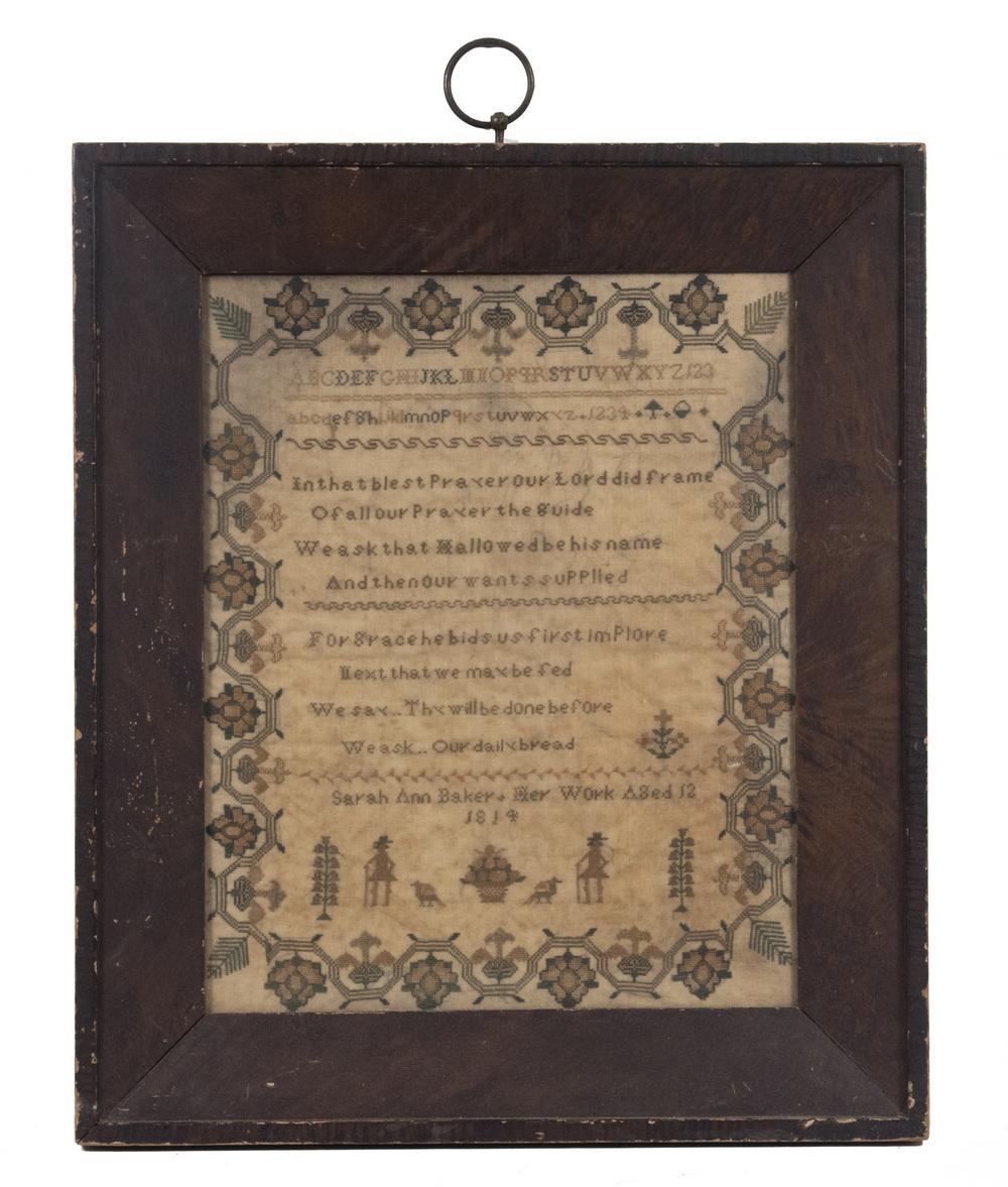 1814 AMERICAN SAMPLER