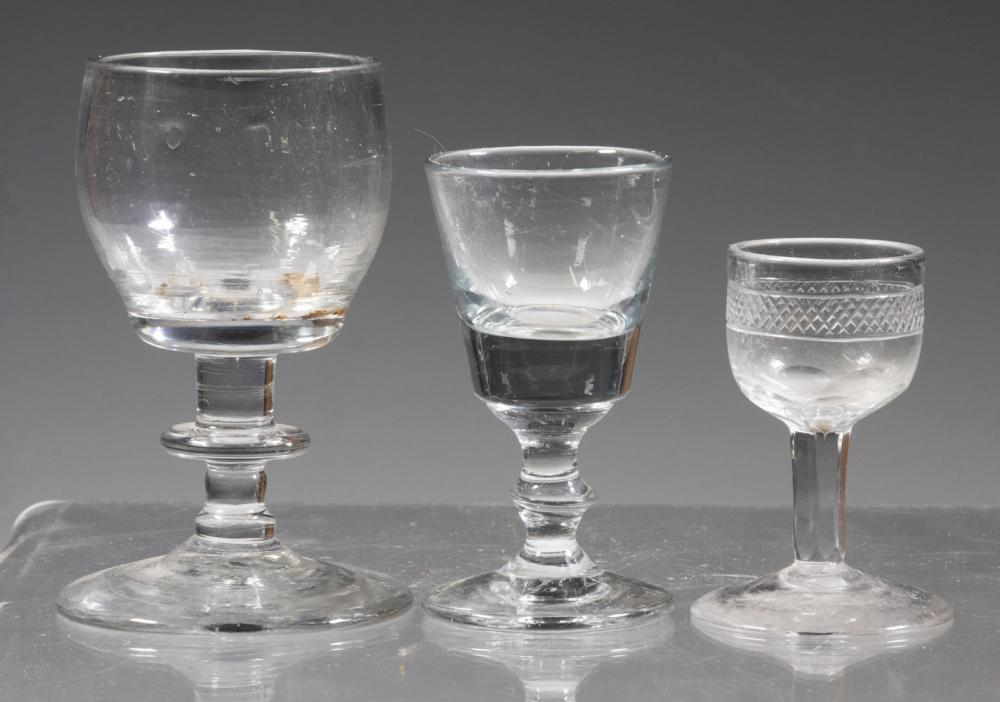 EARLY ENGLISH GLASSES