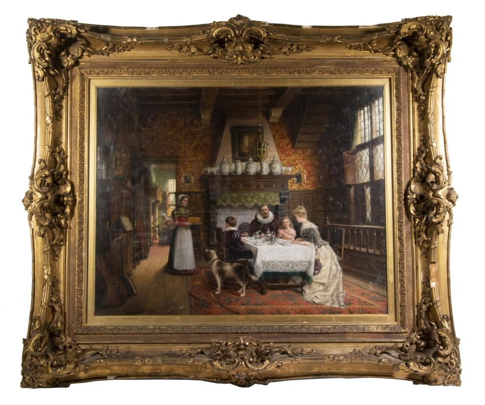 CONSTANT AIME MARIE CAP (BELGIUM, 1842-1915)