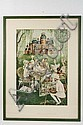 Color Photolitho New Yorker Cover Mary Petty NY, Mary Petty, Click for value