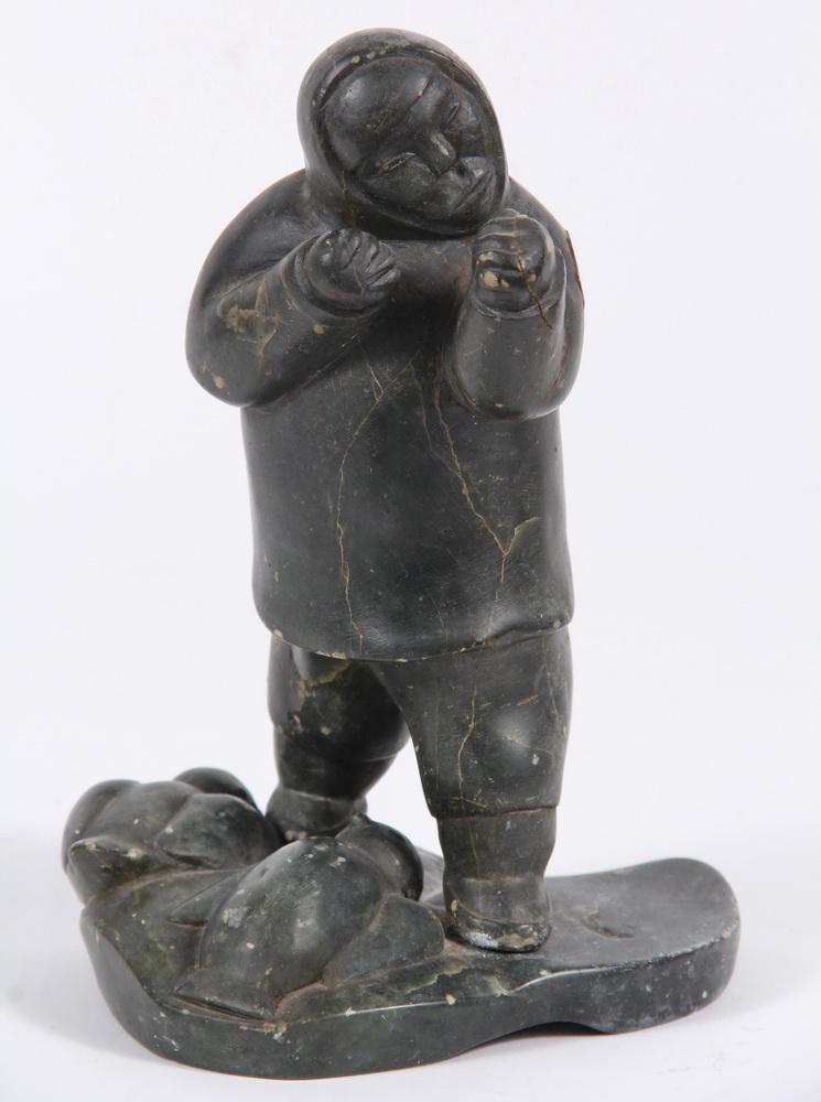 Inuit stone carvings paulosie sivuak puvirnituq queb
