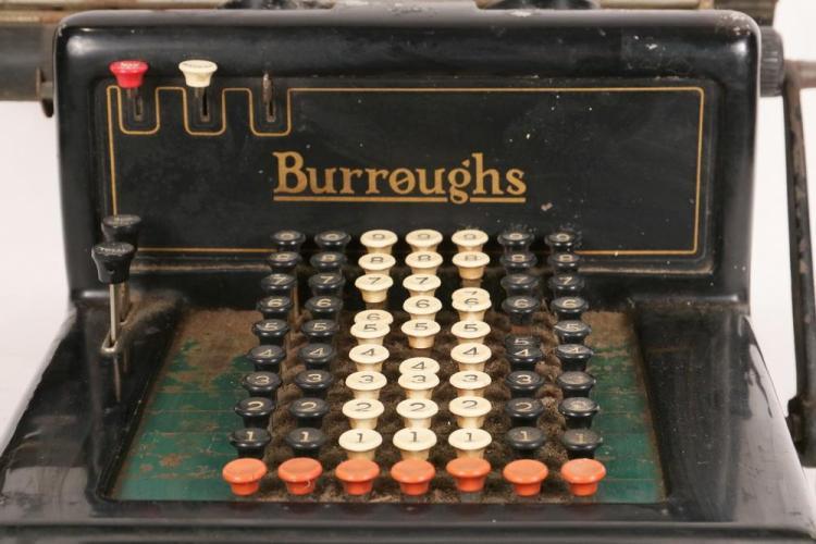 ANTIQUE ADDING MACHINE/CALCULATOR - Burroughs