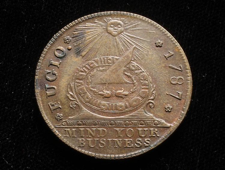 COIN - One Fugio Cent, 1787, New Haven Restrike.
