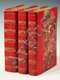 RARE SET (3 VOLS) BOOKS - Sue, Eugene; 'The Wandering Jew', London, Chapman and Hall, 1844-1845, first English translation, 5 1/4