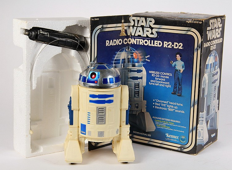 Star Wars Toy Kenner Radio Controlled R2 D2 No 38430 Is