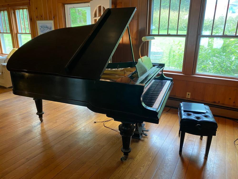 BLUTHNER KAISER WILHELM II PARLOUR GRAND PIANO, ROYAL PRESENTATION PIECE, BUILT IN 1902, LEIPZIG, GERMANY