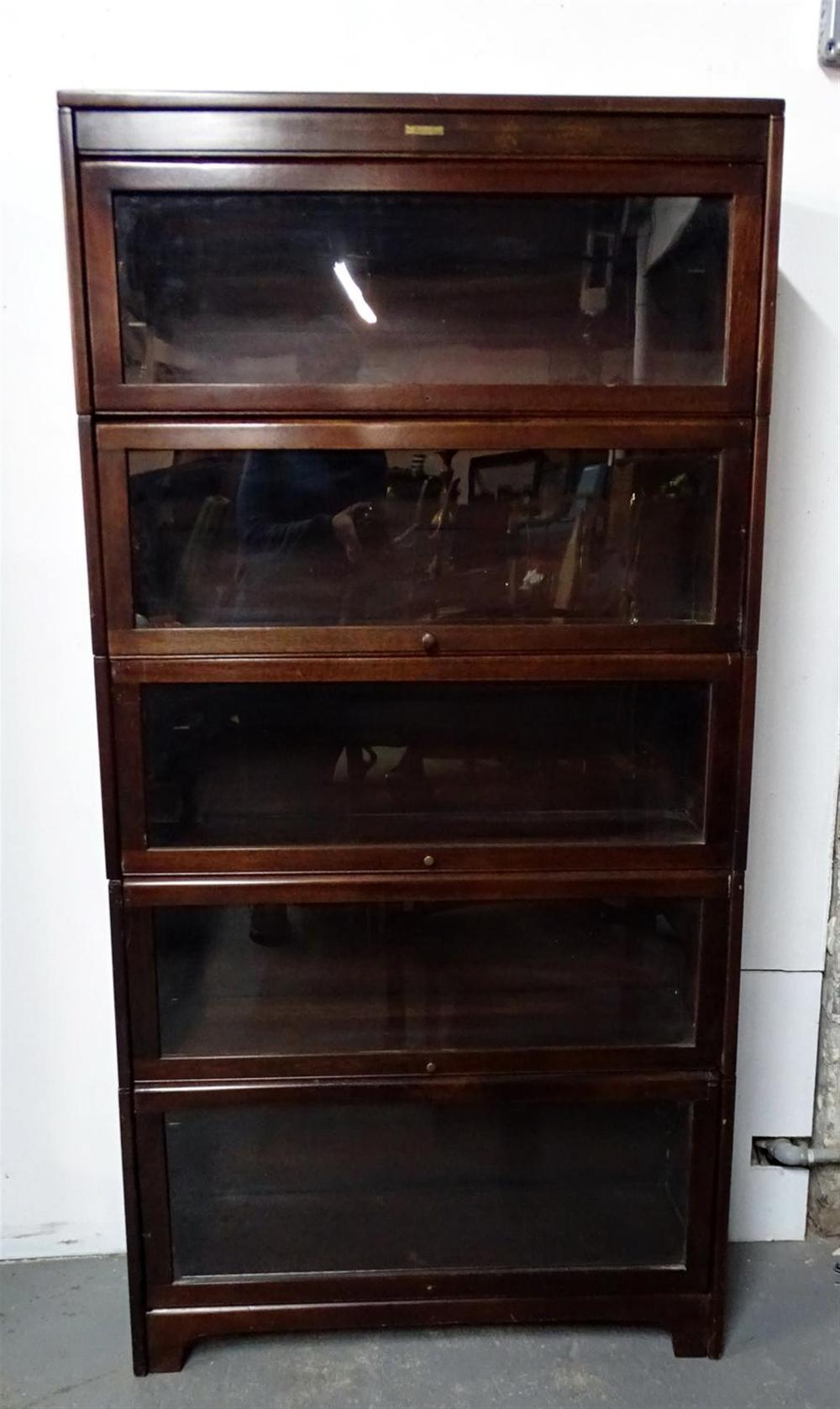 Lundstrom Mahogany Barrister Bookcase