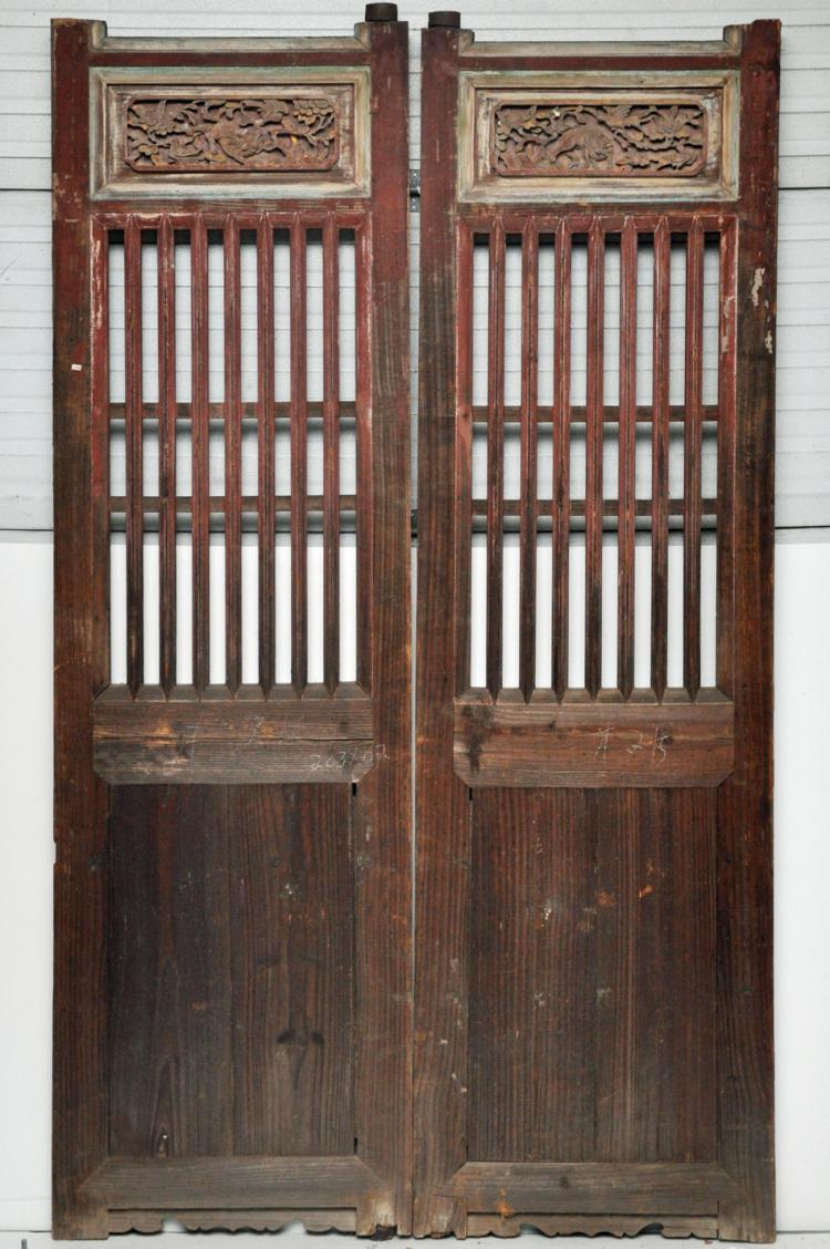 - Antique Chinese Doors From A Country House