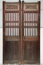 Antique Chinese Doors from a Country House