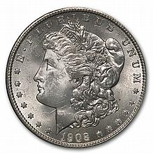 1902-O Brilliant Uncirculated PCGS Stage Coach Silver Dollars - L30346
