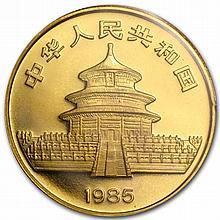 1985 1 oz Gold Chinese Panda (Sealed) - L30254