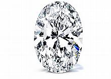 Oval 1.56 Carat Brilliant Diamond E VS1 - L24345