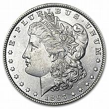 1897 Morgan Dollar - Brilliant Uncirculated - L30317