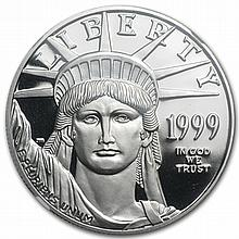 1999-W 1 oz Platinum American Eagle PF-70 NGC UCAM Registry Set - L30564
