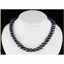 256.04ctw Philippines 10-11mm Freshwater Pearl Necklace - L15463
