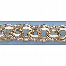 Pure Gold 7.5 14kt Italian Gold-Yellow 11.0mm, Charm Bracelets Gauge:V399, 36.0gr - L11339