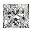 Princess 0.52 Carat Brilliant Diamond E VS1 - L24349