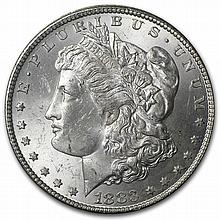 1882-1884-CC Morgan Dollar Brilliant Uncirculated - GSA Holder - L25619