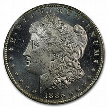 1885-O Morgan Dollar - MS-63 DMPL Deep Mirror Proof Like PCGS - L27909
