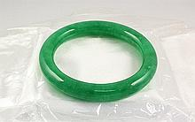 Chinese Antique Jade Bangle - L24073