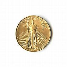 One-Tenth Ounce 2005 US American Gold Eagle Uncirculated - L18080