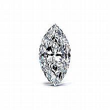 Marquise 0.46 Carat Brilliant Diamond D SI2 - L24342