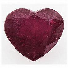 10.36ctw Afican Ruby Red Loose Gemstone - L17810
