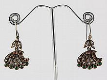 Natural Stone Antique Design Dangle Earring - L23066