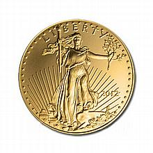 Half Ounce 2012 Uncirculated US American Gold Eagle - L18062