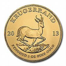 South Africa Gold Krugerrand 1 Ounce 2013 - L21619