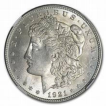 1921 Morgan Dollar - MS-63 NGC - L30024