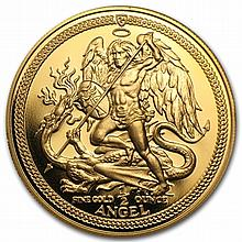 Isle of Man 1/2 oz Gold Angels (Proof &/or Unc) - L30827