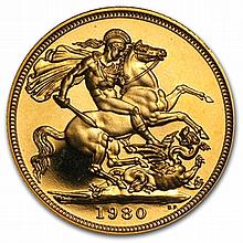 Great Britain Gold Proof Sovereign Queen Elizabeth II - L30922