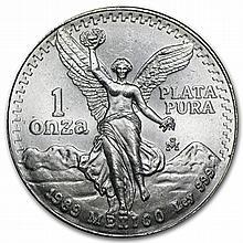 1989 1 oz Silver Mexican Libertad (Brilliant Uncirculated) - L31410