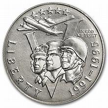 1993-P World War II Half Dollar Clad Commemorative MS-69 PCGS - L30387