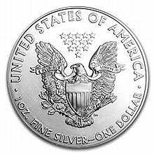 2008-W Silver American Eagle MS-69 NGC (ER) Reverse of '07 - L22898