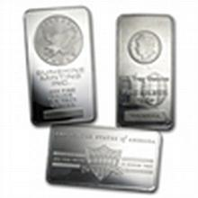 10 oz Silver Bar (Secondary Market) .999 Fine - L24760