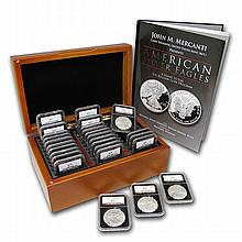 1986-2013 Proof Silver American Eagle Set (Complete Set) - L22661