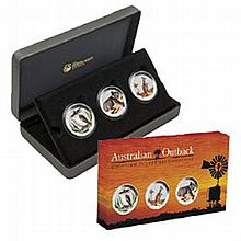 2012 1/2 oz Silver Australian Outback Collection - 3 coin set - L25045